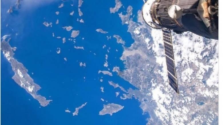 Διαστημικά... χαιρετίσματα στην Κρήτη