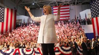 Εκλογές ΗΠΑ: Η Χίλαρι Κλίντον πρώτη γυναίκα υποψήφια για τον Λευκό Οίκο