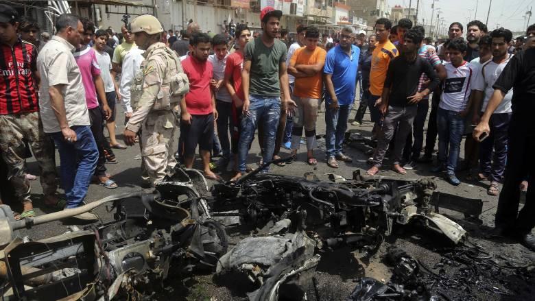 Μακελειό σε διπλή βομβιστική επίθεση στη Βαγδάτη