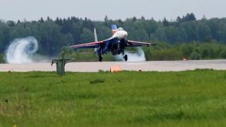 Συνετρίβη ρωσικό μαχητικό έξω από τη Μόσχα