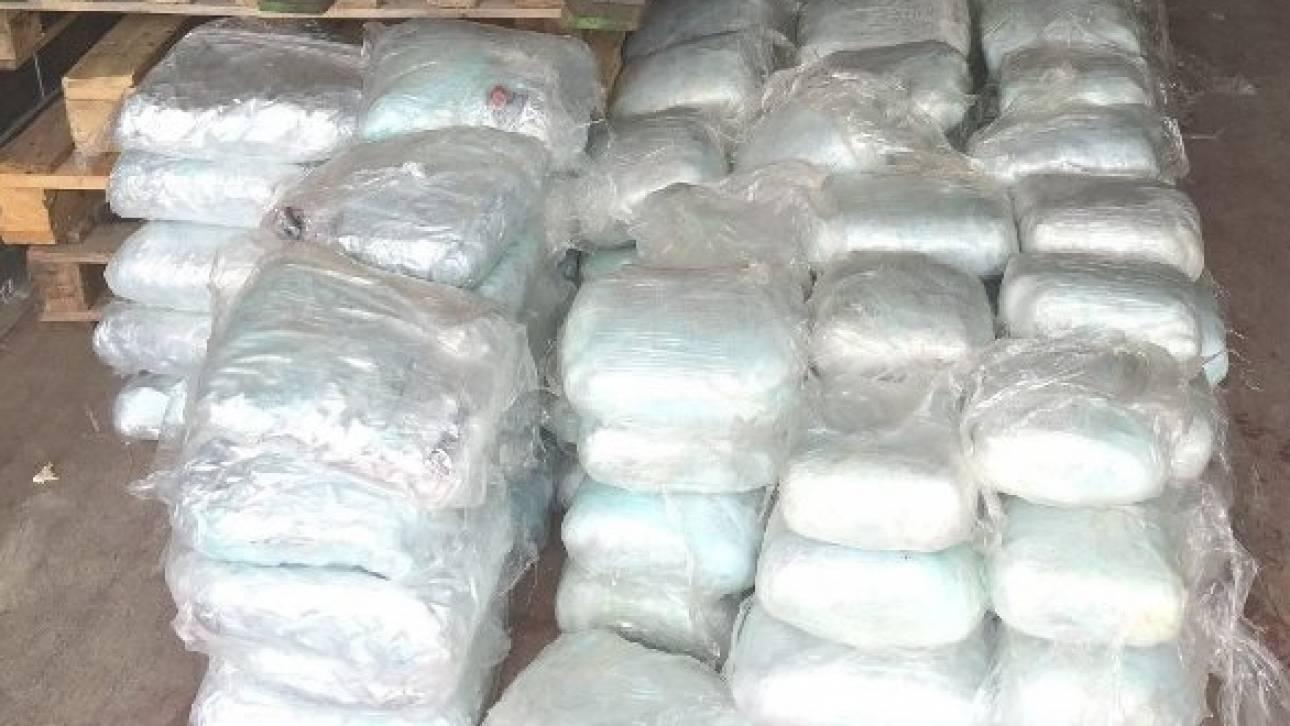 Βοιωτία: Ενενήντα δέματα με ναρκωτικά κάηκαν στον κλίβανο