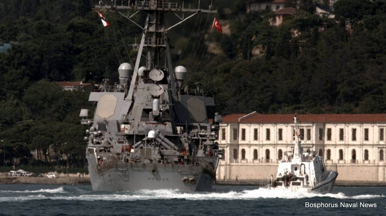 H Μόσχα θα απαντήσει στην είσοδο αμερικανικού πολεμικού στη Μαύρη Θάλασσα
