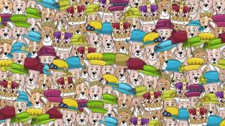 Η βασίλισσα Ελισάβετ μεταξύ δεκάδων... εστεμμένων σκυλιών: Εσείς μπορείτε να την εντοπίσετε;