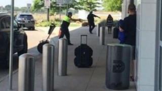 Πυρά στο αεροδρόμιο του Ντάλας
