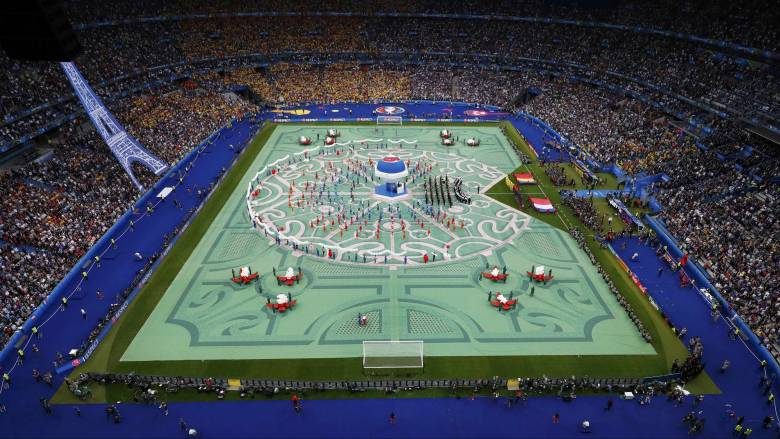 EURO 2016: αυλαία στην διοργάνωση με την τελετή έναρξης