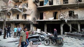 Διπλή βομβιστική επίθεση σε προάστιο της Δαμασκού