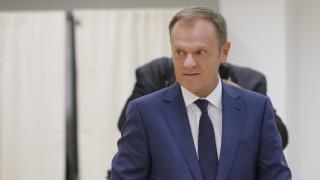 Τουσκ: Μέχρι τον Οκτώβριο οι συνομιλίες για την κατάργηση της βίζας για τους Τούρκους