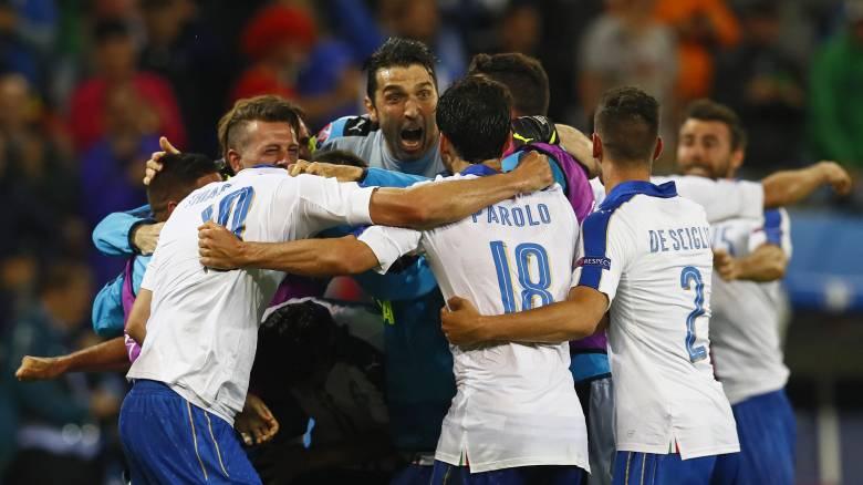 EURO 2016: με άμυνα για σεμινάριο, ξεκίνημα με το δεξί για την Ιταλία με το 2-0 επί του Βελγίου