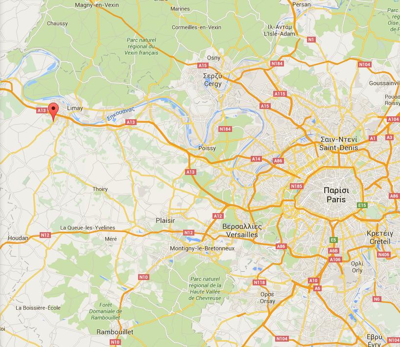 Magnanville Χάρτες Google
