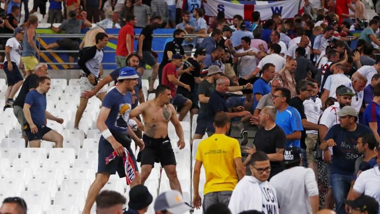 EURO 2016: αποκλεισμός με αναστολή και πρόστιμο 150 χιλ. € στη Ρωσία για τα επεισόδια