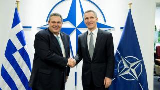 Π. Καμμένος: Η παρουσία του ΝΑΤΟ στο Αιγαίο πρέπει να συνεχιστεί
