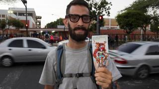 Καλλιτέχνης διαμαρτύρεται για την οικονομική κρίση ζωγραφίζοντας... χαρτονομίσματα