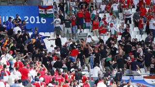 EURO 2016: συμπλοκές Ούγγρων οπαδών και προσωπικού ασφαλείας στο Βελοντρόμ της Μασσαλίας