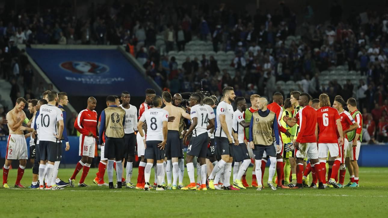 EURO 2016: στους 16 με Χ Γαλλία και Ελβετία, ιστορική νίκη για την Αλβανία επί της Ρουμανίας
