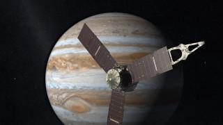 Το διαστημικό σκάφος Juno πλησιάζει στον Δία