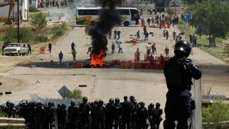 Μεξικό: Έξι νεκροί σε διαδήλωση καθηγητών κατά κυβερνητικών μέτρων