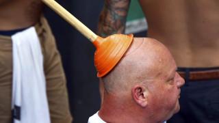 EURO 2016: Άγγλος φίλαθλος προσφέρει την κορυφαία εικόνα μέχρι τώρα της διοργάνωσης