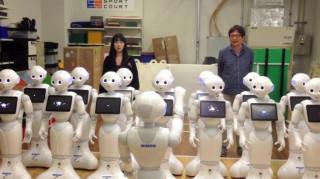 Χορωδία από ρομπότ τραγουδά Μπετόβεν