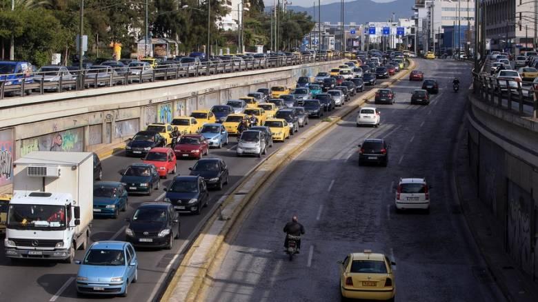Κυκλοφοριακές ρυθμίσεις την Πέμπτη στους δρόμους της Αθήνας