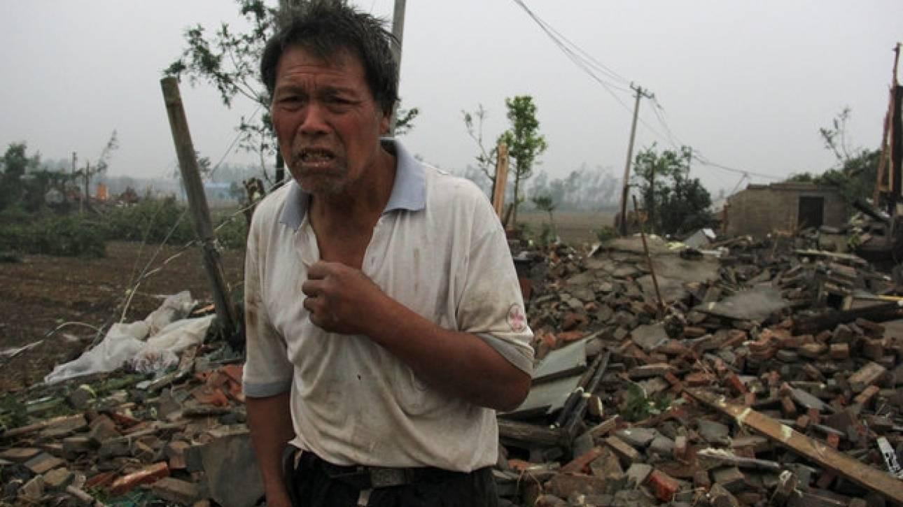 Δεκάδες νεκροί από ανεμοστρόβιλο στην Κίνα