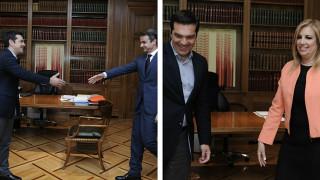 Ολοκληρώθηκαν οι συναντήσεις του πρωθυπουργού για τον εκλογικό νόμο