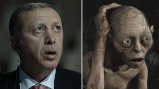 Φυλάκιση για Τούρκο που παρομοίασε τον Ερντογάν με το... Γκόλουμ