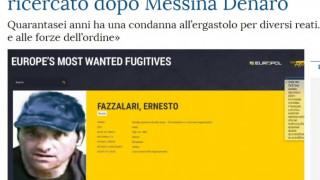 Συνελήφθη ο νονός της μαφίας της Καλαβρίας Ερνέστο Φατσαλάρι
