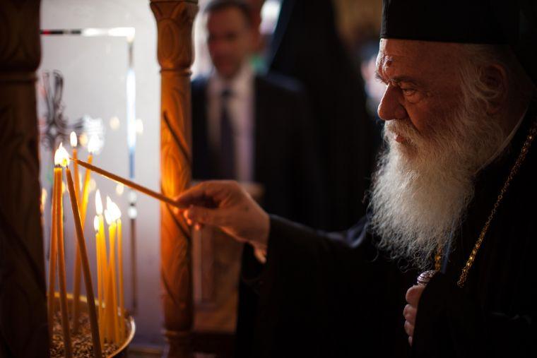 Greece Hawkey HGC divine liturgy 0714