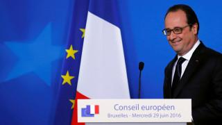 Ευκαιρίες για την χρηματαγορά του Παρισιού βλέπει ο Ολάντ μετά το Brexit