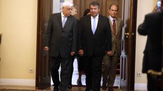 Παυλόπουλος-Γκάμπριελ: Η Ευρώπη και η ΕΕ θα προχωρήσουν και χωρίς τη Βρετανία