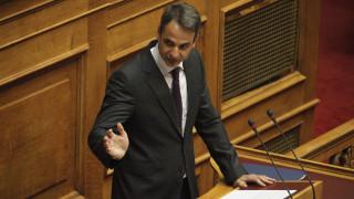 Μητσοτάκης: Η χώρα δεν χρειάζεται νέο εκλογικό νόμο αλλά εκλογές