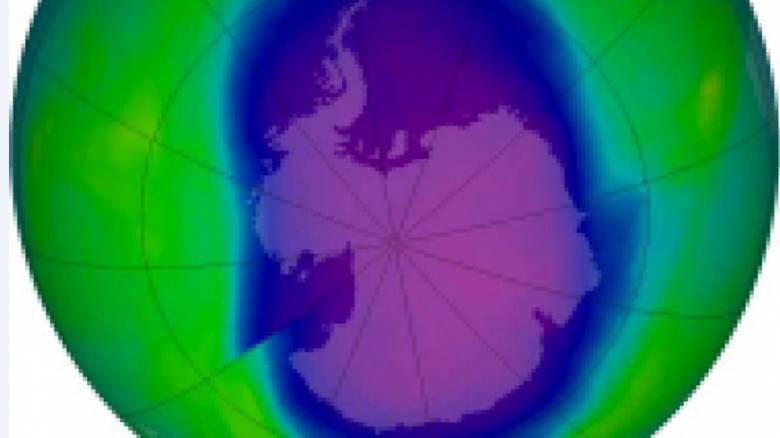 Η τρύπα του οζοντος μικραίνει