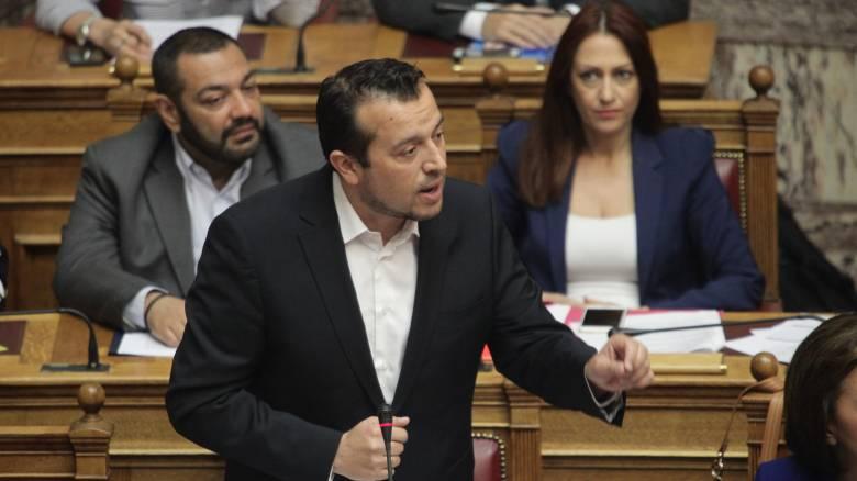 Νίκος Παππάς στη Βουλή για τις τηλεοπτικές άδειες