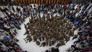 Βρετανοί και Γάλλοι θυμούνται τη μάχη του Σομ και ετοιμάζονται να χωρίσουν (pics)