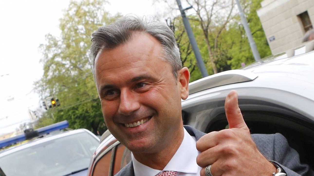 Aυστρία: Δημοψήφισμα για αποχώρηση από την Ε.Ε θέλει ο υποψήφιος της Ακροδεξιάς