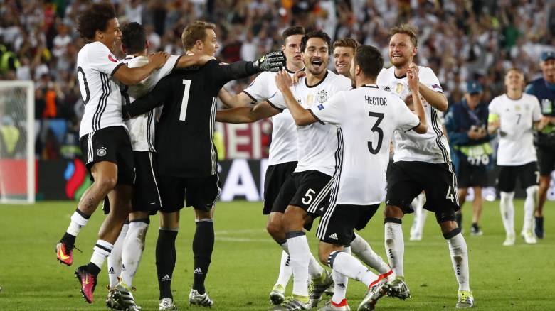 EURO 2016: στα πέναλτυ απέκλεισε η Γερμανία την Ιταλία από τα ημιτελικά