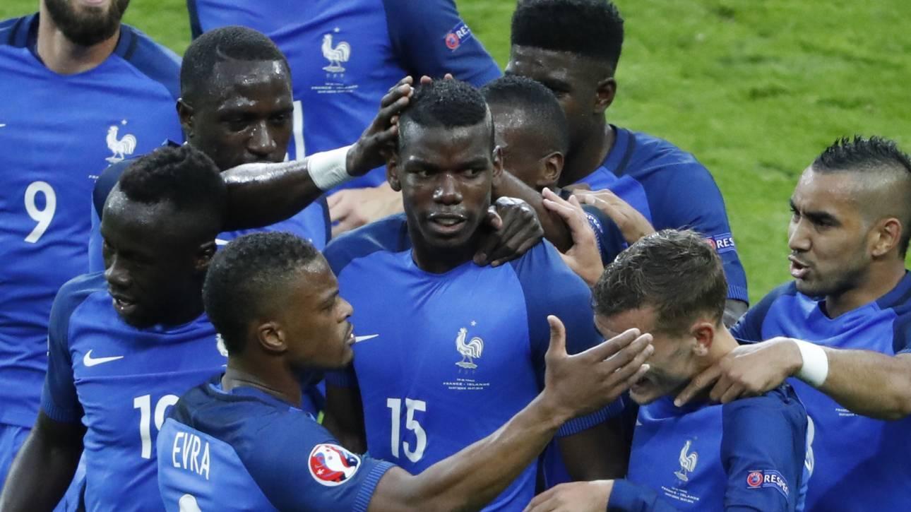 EURO 2016: εντυπωσιακή πρόκριση της Γαλλίας στα ημιτελικά, 5-2 την Ισλανδία