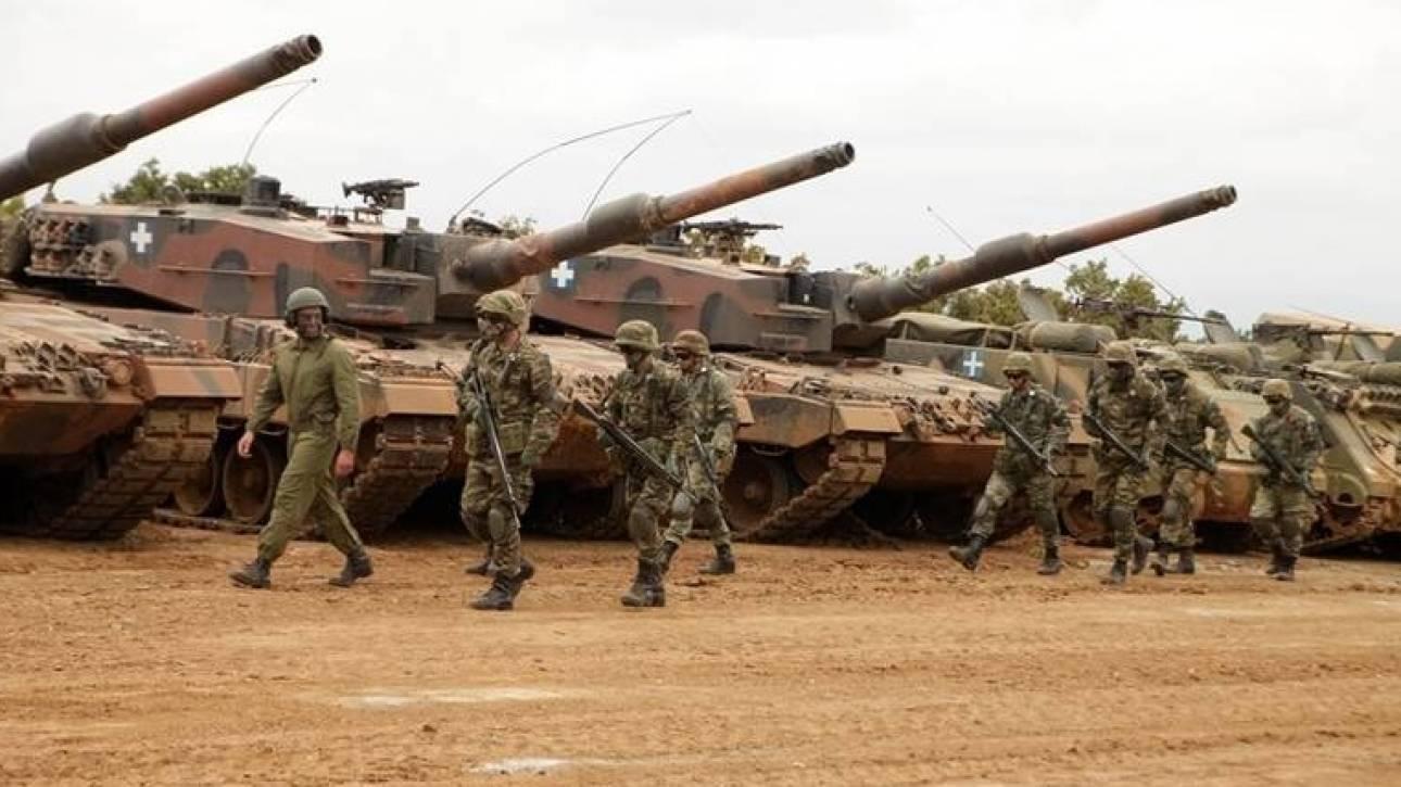 Δεύτερη η Ελλάδα σε αμυντικές δαπάνες