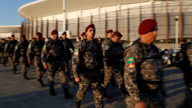 Βραζιλία: Ενισχύονται οι δυνάμεις ασφαλείας για τους Ολυμπιακούς Αγώνες