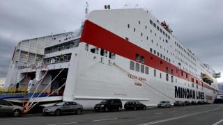 Λαχτάρησαν 594 επιβάτες από πρόσκρουση πλοίου στην Πάτρα
