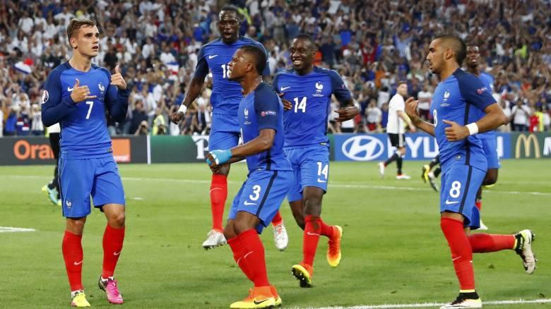 EURO 2016: τελικός για την Γαλλία με πρωταγωνιστή τον Γκριεζμάν 2-0 την Γερμανία
