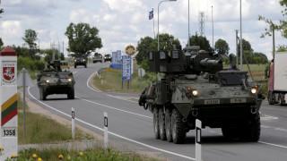 Νατοϊκά στρατεύματα στα ρωσικά σύνορα