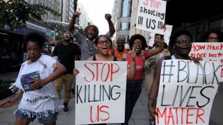 Διαδήλωση στο Λονδίνο με σύνθημα «η ζωή των μαύρων είναι σημαντική»