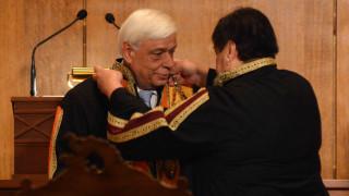 Επίτιμος διδάκτορας του Πανεπιστημίου Πατρών αναγορεύτηκε ο Παυλόπουλος
