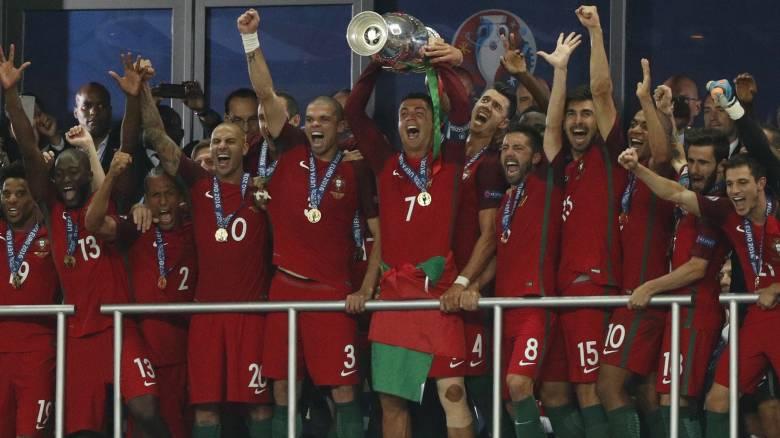 EURO 2016: στην παράταση η Πορτογαλία νίκησε την Γαλλία και κέρδισε τον τίτλο