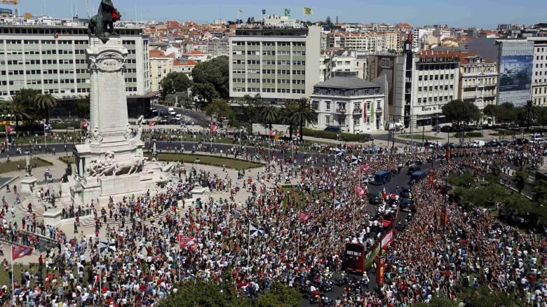 EURO 2016: η νέα πρωταθλήτρια Ευρώπης επέστρεψε στην Πορτογαλία