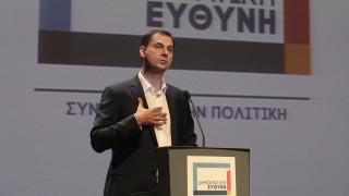 Τον νέο πολιτικό φορέα «Δημοκρατική Ευθύνη» παρουσίασε ο Χάρης Θεοχάρης