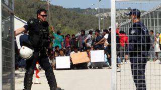 Συμπλοκή ανάμεσα σε μετανάστες στο hotspot της Μόριας