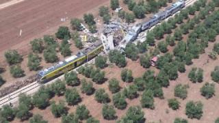 Σύγκρουση τρένων στην Ιταλία με πολλούς νεκρούς
