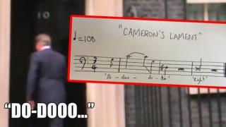 «Ο Θρήνος του Κάμερον»: Ποια μελωδία μουρμούρισε ο ηττημένος του Brexit;